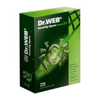 Антивирус Dr. Web Security Space 2ПК/ 1 год (+1 месяц подарок) Коробка (BHW-BK-13M-2-A3)