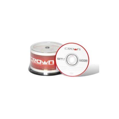 DVD-R Disk CROWN, 16x, 4.7 GB/120 min, pack 1