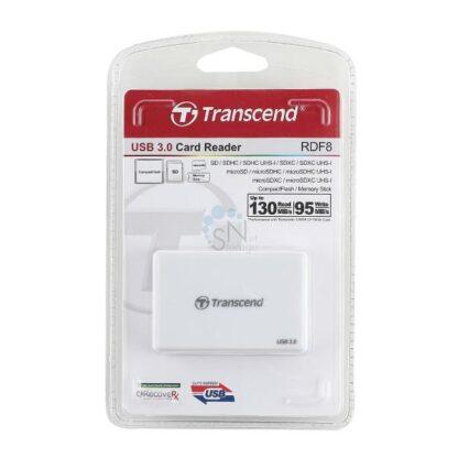 Card Reader USB 3.0 Transend TS-RDF8W, SD, SDHC, SDXC, miniSD, microSD, miniSDHC