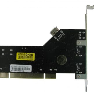 Контроллер PCI, 1394, ext. 2+1mini, int. 1, cable mini DV, box