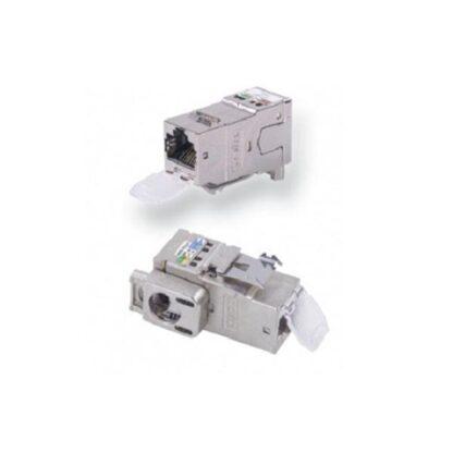 Модуль информационный 6e-cat экранированный AMP-TWIST-6S-SL/RJ45 без пылезащитной крышки