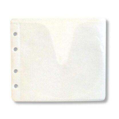 Пластиковый конверт для 2 CD/DVD диска, class 2, green
