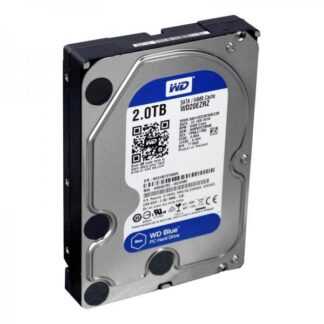 Жесткий диск S-ATA 3.5', 2Tb Western Digital Blue WD20EZRZ, 64Mb, 5400rpm