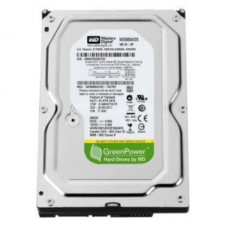 Жесткий диск S-ATA 3.5', 500Gb, Western Digital Blue, WD5000AVDS, 32Mb, 7200rpm